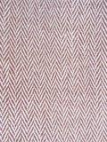 stofdetail tas / tote bag XL -ronde bodem visgraat- bruin