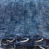 sjaal/omslagdoek mixed wool - denim blue_