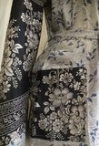 kimono recycled silk 5-lichtgrijs/lavendel zwarte bloem_
