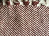 plaid recycled cotton warm terra_