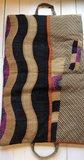 kussen pick-up 1 -vintage katoen met hengsels army-oranje rozen met abstract patchwork_