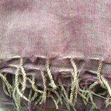 sjaal/omslagdoek mixed wool -pink/grey_