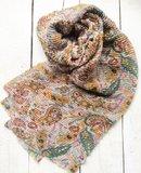 sjaal  plissé paisley print multicolour_