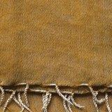 sjaal/omslagdoek mixed wool -oker_