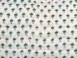 stofdetail deken quilt peuter/kind -roze/wit