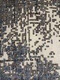 stofdetail tas shopper XL met etui stonewashed grijs