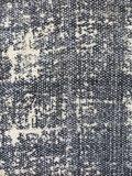 stofdetail tas shopper XL met etui stonewashed denim