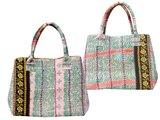 tas shopper XL is ook tot handtas om te vormen
