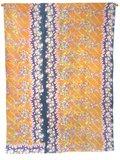 deken quilt vintage katoen -roze/oranje retrodessin 2861-1