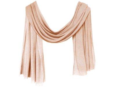 sjaal cashmere -crème