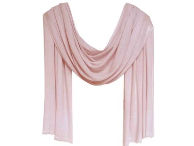sjaal cashmere - zacht roze