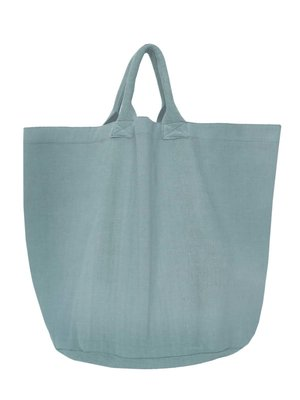 opbergzak/tas medium rond zware katoen - zeeblauw
