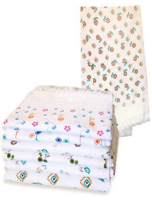 handdoek wafelstructuur dun-set van 2