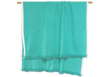 hammam/stranddoek gemêleerd 2 -bladgroen/wit