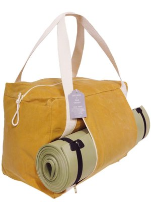 tas yoga/sport/weekendtas canvas curry