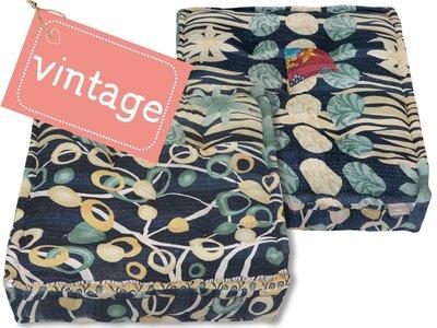 matraskussen vintage stof 60x60 dessin 16B