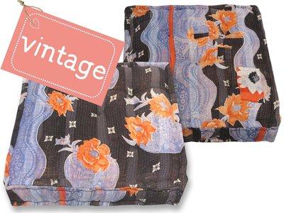 matraskussen vintage stof 60x60 dessin 27
