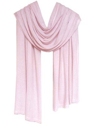 sjaal cashmere pastel roze