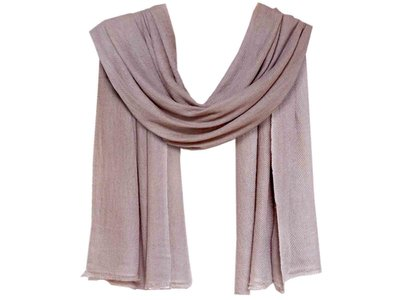 sjaal cashmere - taupe