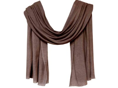 sjaal cashmere - reebruin