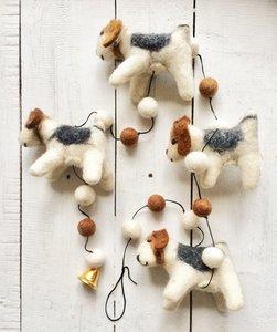 UITVERKOCHT-hanger terrier wolvilt