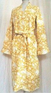 UITVERKOCHT-kimono quilted katoen -maisgeel op wit