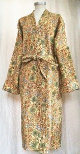 kimono quilted katoen -multicolour tropical