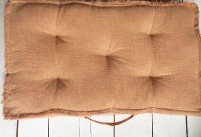 matraskussen katoen  72 x 42 cm -koraal