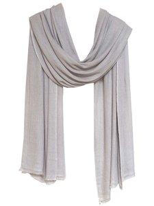 sjaal cashmere beige