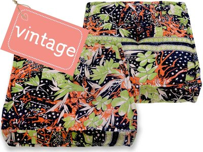 matraskussen vintage stof 60x60 dessin 31B