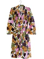 kimono katoen printed- flower mix- rainforest