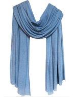 sjaal cashmere grijs